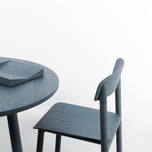 stattmann profile chair blue