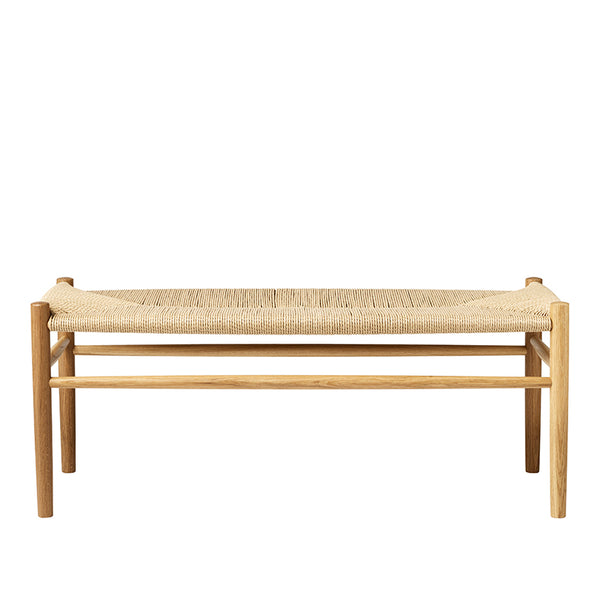 J83B oak wood bench