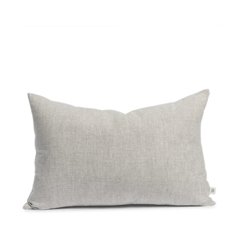 Linen cushion flax rectangular