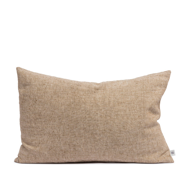 Linen cushion hazel rectangular
