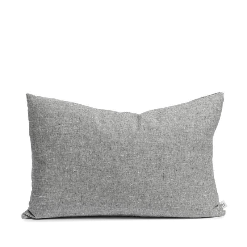 Linen cushion pebble rectangular