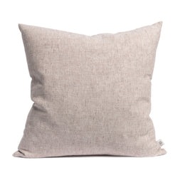 Linen cushion pink salt