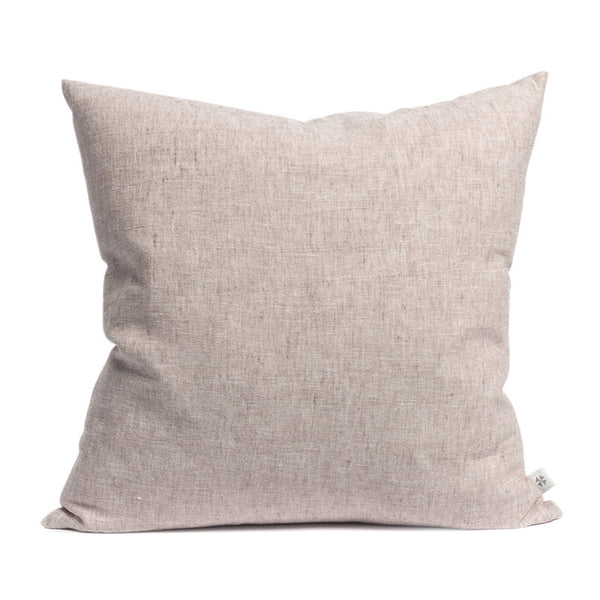 Roze linnen cushion