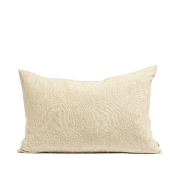 Linen cushion wheat