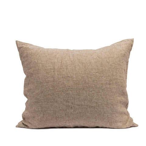 Linen pillow case hazel