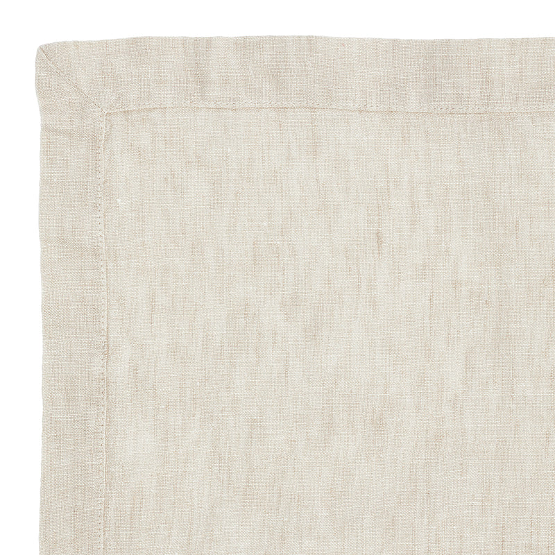 Linen tablecloth sea shell