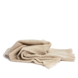 mohair wrap almond By Mölle
