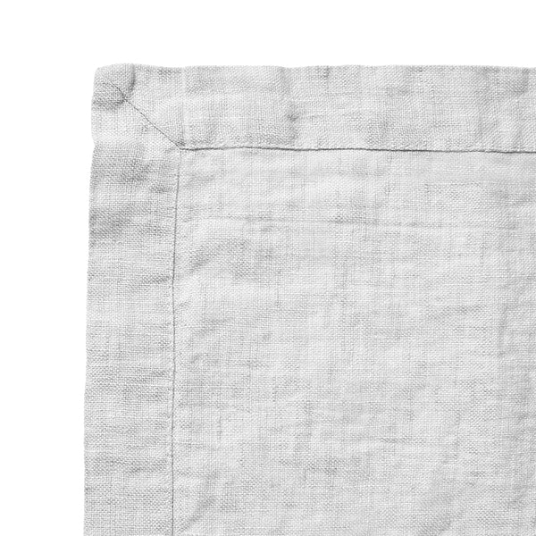 Linen napkin misty grey