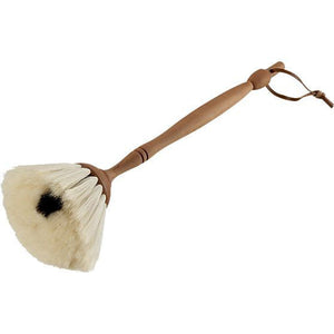Goat hair dust brush