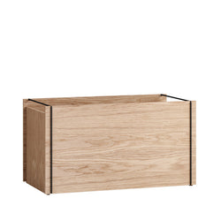 Moebe storage box black