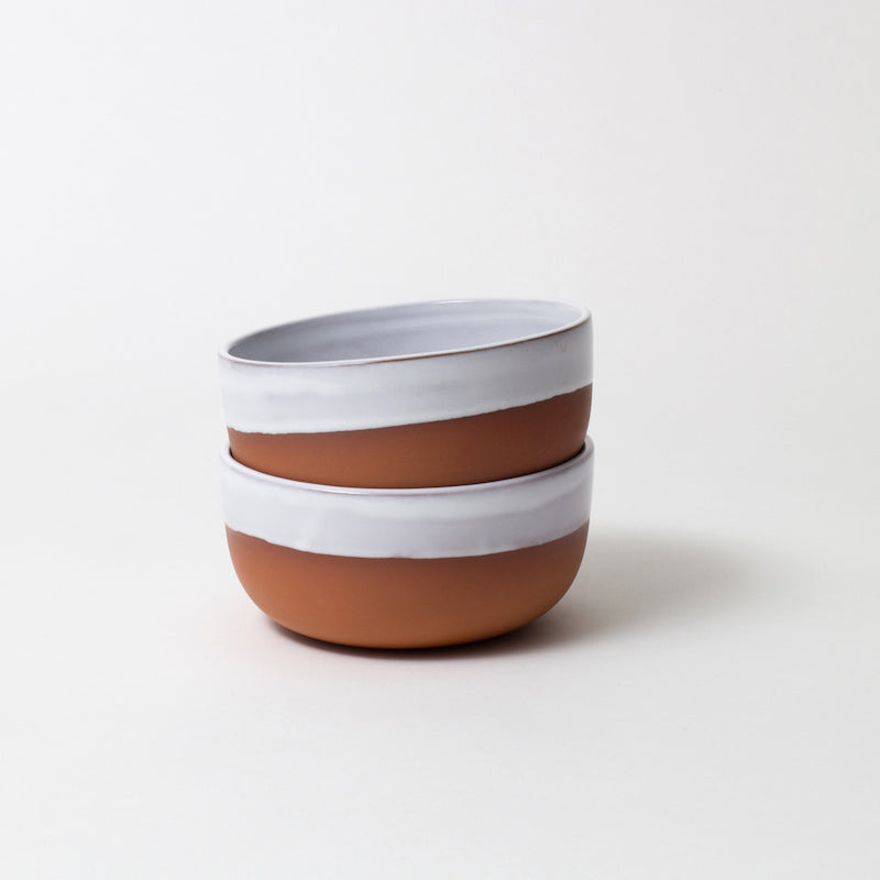 Terracotta cereal bowl