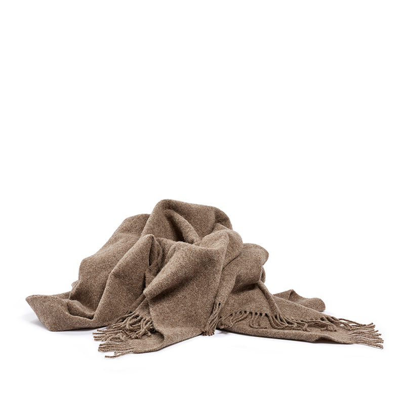 Woolen blanket brown