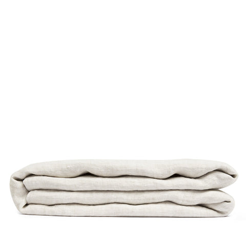 Linen flat sheet sea shell
