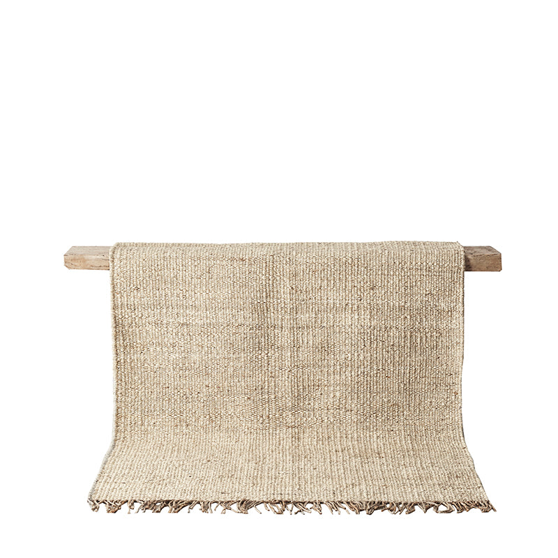 Handwoven hemp rug By Mölle in different sizes