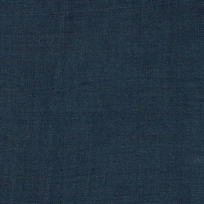 Linen cushion indigo