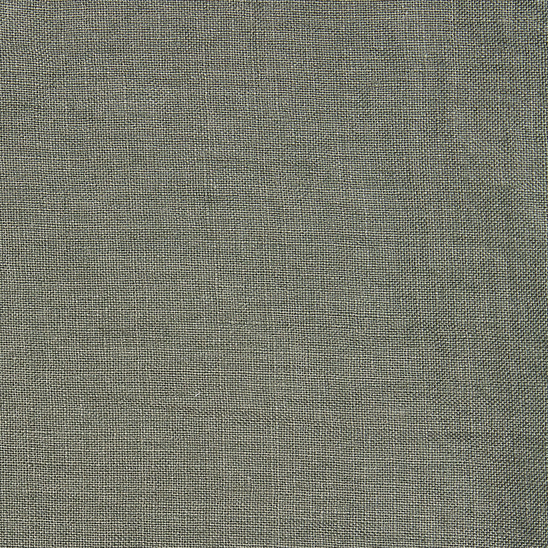 Linen cushion olive