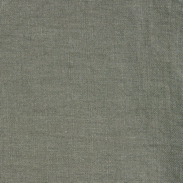 Linen fitted sheet olive