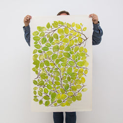 Spring beech leaf print Superfolk