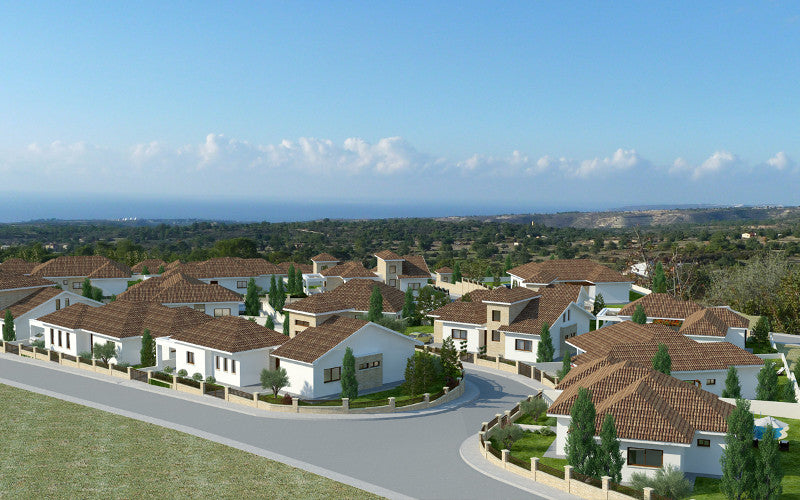 Residential land with Ready Full Planning and Full Architectural design for 29 detached houses Cyprus