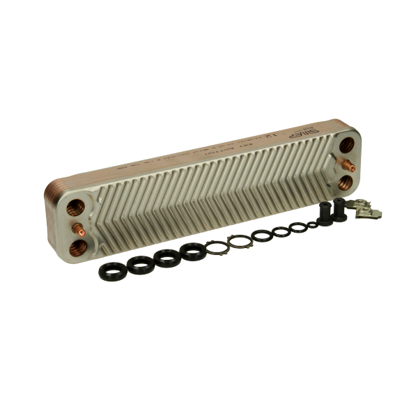 Worcester Bosch Heat Exchanger | 12 Plate | 87161066860