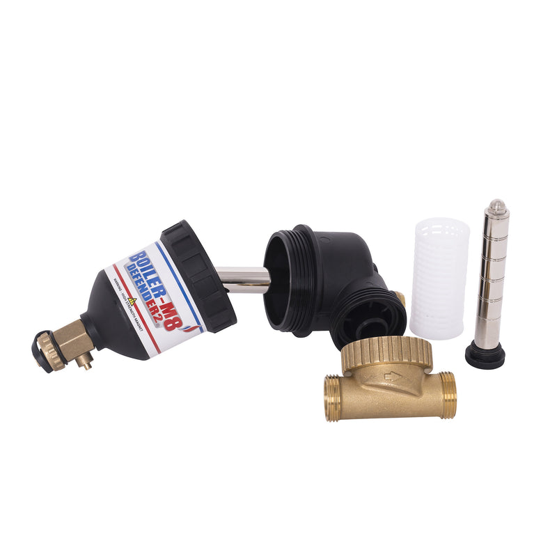 BOILER-M8 DEFENDER-2 22MM CENTRAL HEATING MAGNETIC SYSTEM BOILER FILTER + VALVES