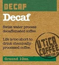 Utica Coffee Roasting Co. Decaf