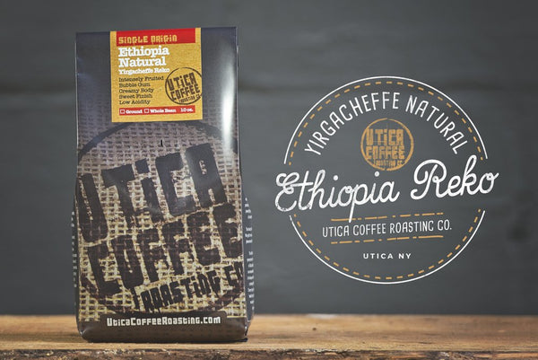 Utica Coffee Roasting Company Coffee Profile: Ethiopia Natural Yirgacheffe Reko