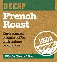 Buy Utica Coffee Roasting Co. French Roast Organic Decaf Coffee Now