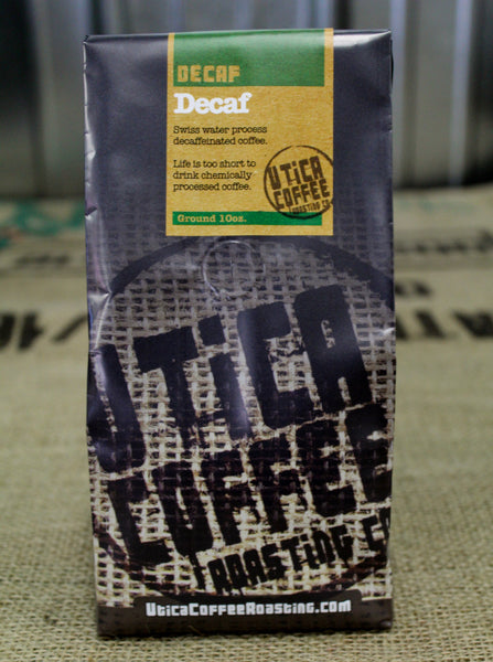 Utica Coffee Roasting Co. Decaf Colombia Coffee
