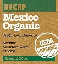 Utica Coffee Roasting Co. Mexico Organic Decaf Coffee