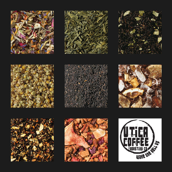 Utica Coffee Roasting Co. Tea Selection High Quality