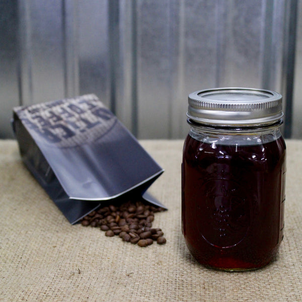 'Wake the Hell Up' Coffee Infused Vodka Recipe Utica Coffee Roasting Co. Blog