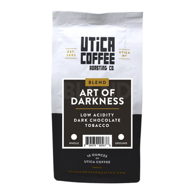 The Art Of Darkness - Utica Coffee Roasting Co.