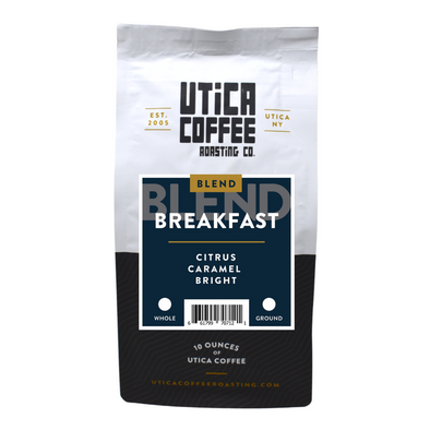 Breakfast Blend - Utica Coffee Roasting Co.