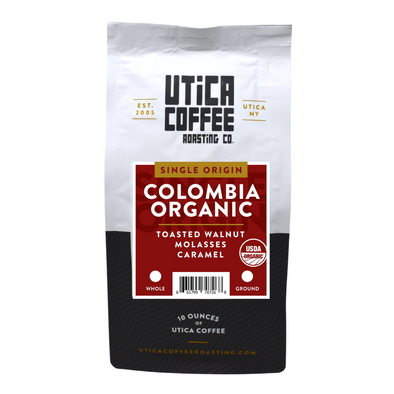 Colombia Organic - Utica Coffee Roasting Co.