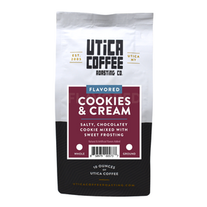 Cookies & Cream - Utica Coffee Roasting Co.