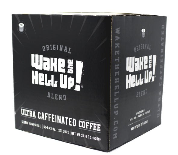 Wake The Hell Up!®️ Single Serve K-Cup Compatible Original 50 Ct Box