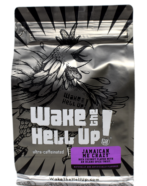 Wake The Hell Up! Jamaican Me Crazy® Flavored Coffee