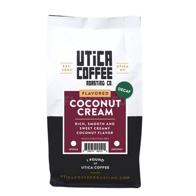 Decaf Coconut Cream - Utica Coffee Roasting Co.