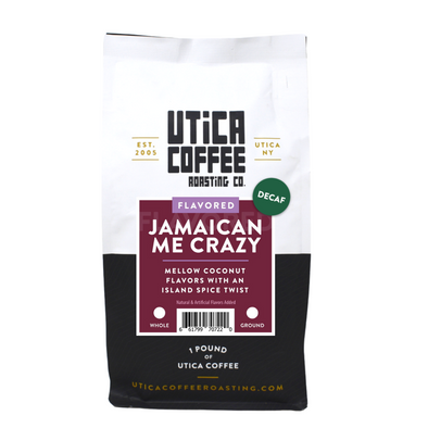Decaf Jamaican Me Crazy® - Utica Coffee Roasting Co.