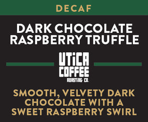 Decaf Dark Chocolate Raspberry Truffle