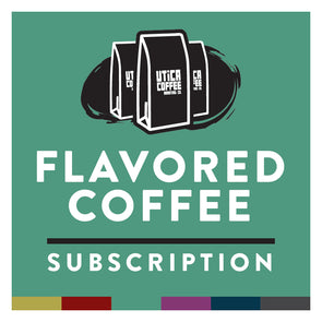 Utica Coffee Flavored Coffee Subscription - Utica Coffee Roasting Co.