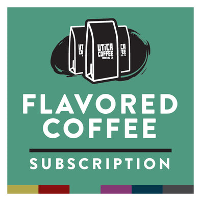 Utica Coffee Flavored Coffee Subscription