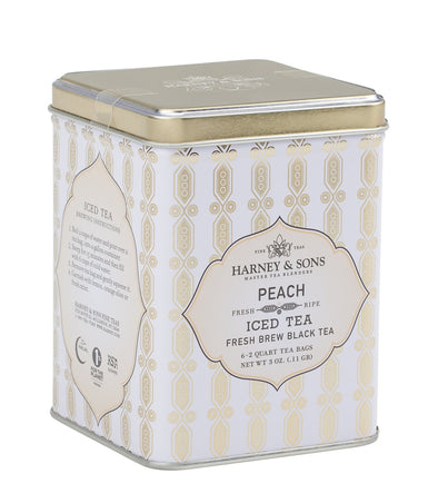 Harney & Sons Peach Iced Tea - Utica Coffee Roasting Co.