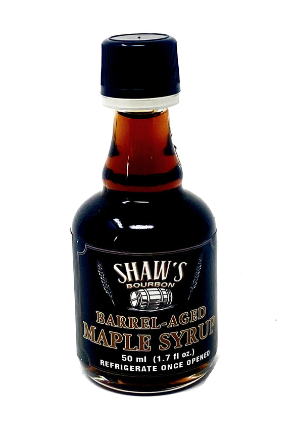 Bourbon Aged Maple Syrup From Shaw's Maple