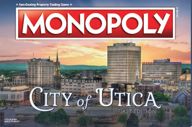 Utica Monopoly Board Game
