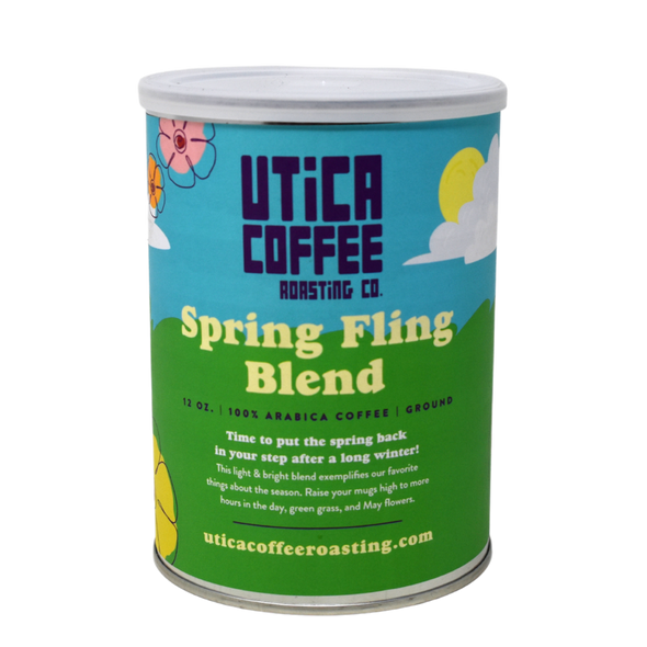 Limited Edition Spring Fling Blend Can - Utica Coffee Roasting Co.