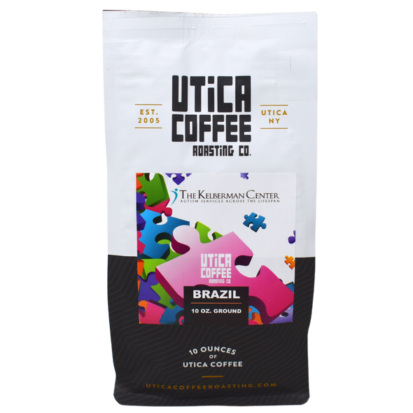 The Kelberman Center Autism Awareness Brazil - Utica Coffee Roasting Co.