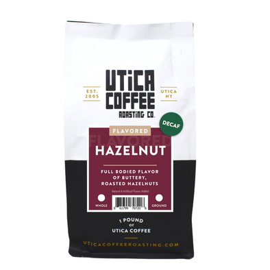 Decaf Hazelnut - Utica Coffee Roasting Co.