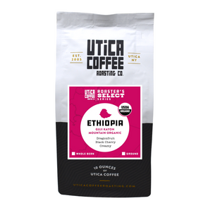 Ethiopia Guji Kanyon Mountain Organic - Utica Coffee Roasting Co.